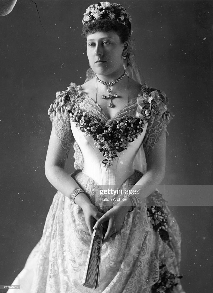 Princess Beatrice, (1857 - 1944), the youngest daughter of Queen Victoria. She married Prince Henry of Battenberg in 1885.