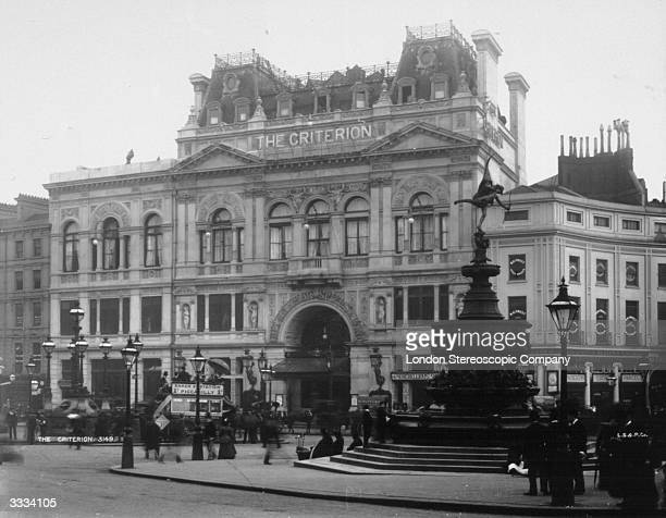 The Criterion Restaurant and Theatre at Piccadilly Circus London