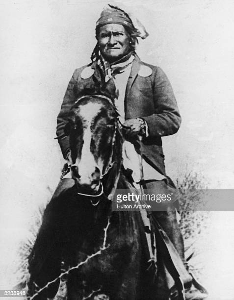 Geronimo Leader of the Chiricahua Apache tribe in Arizona After the Chiricahua Reservation was abolished in 1876 repeatedly led raids against white...