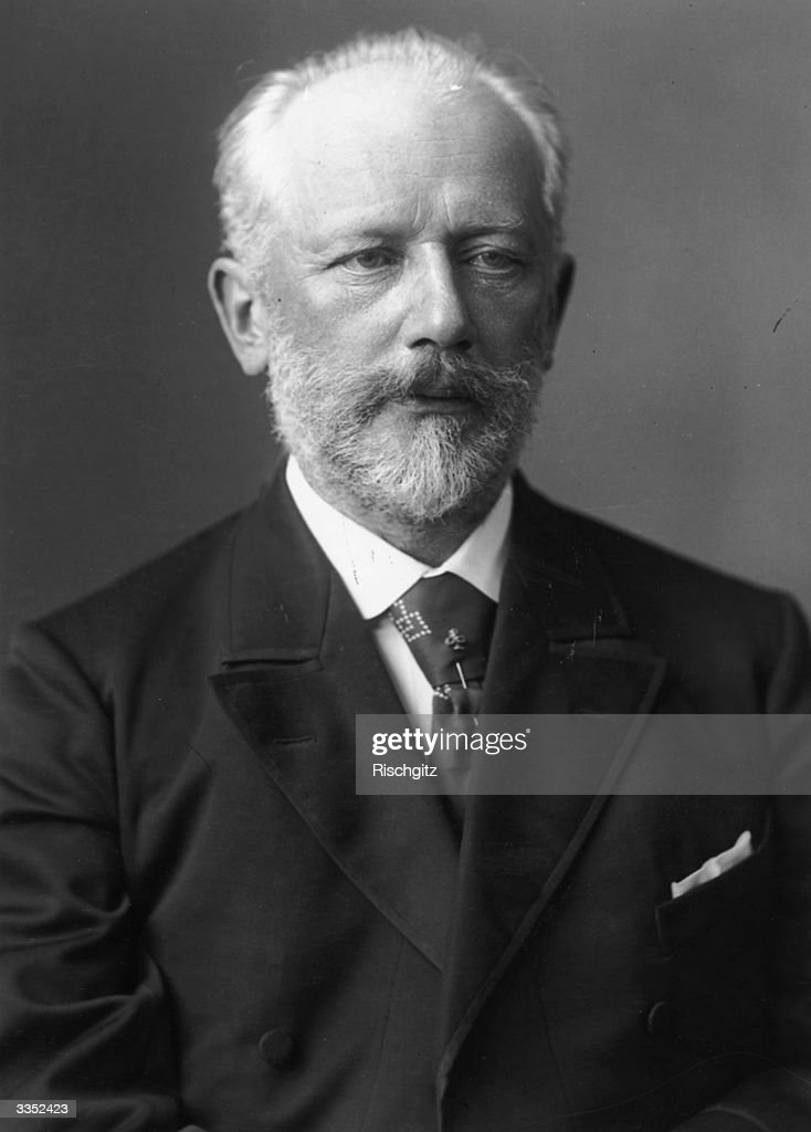 The Russian composer Pyotor Tchaikovsky (1840 - 1893). He was the first Russian composer to establish a reputation with Western audiences.