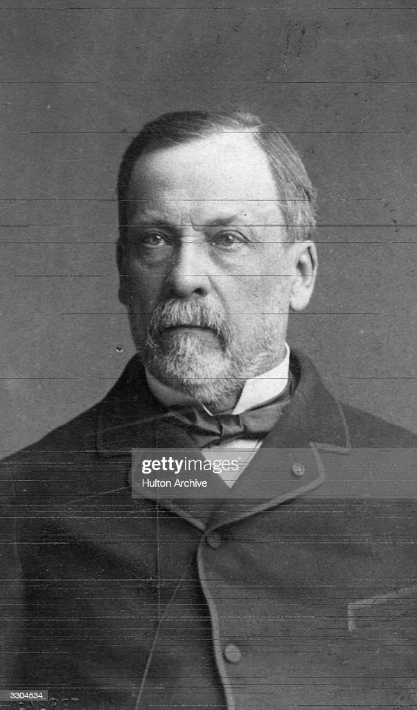 Louis Pasteur (1822 - 1895) French Chemist and pioneer microbioligist ...