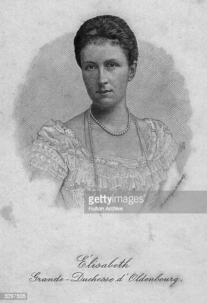 Elizabeth of MecklenburgSchwerin became Grand Duchess of Oldenburg second wife of last Grand Duke Friedrich August