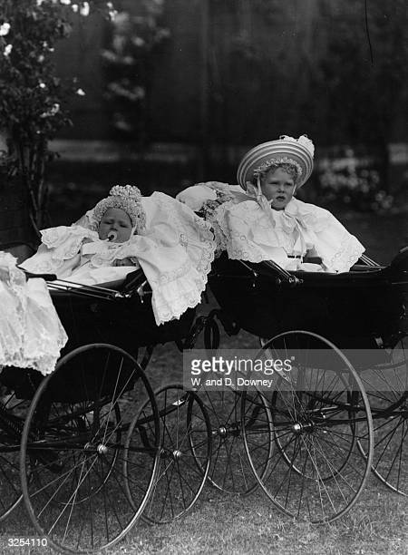 Prince Albert later King George VI and Edward VIII as Prince Edward created Duke of Windsor in 1937