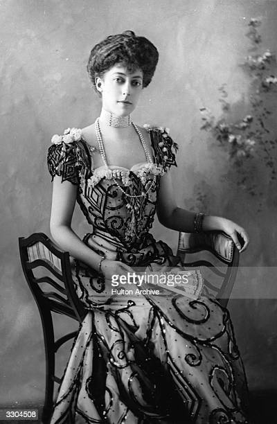 Princess Victoria one of the three daughters of King Edward VII and Queen Alexandra