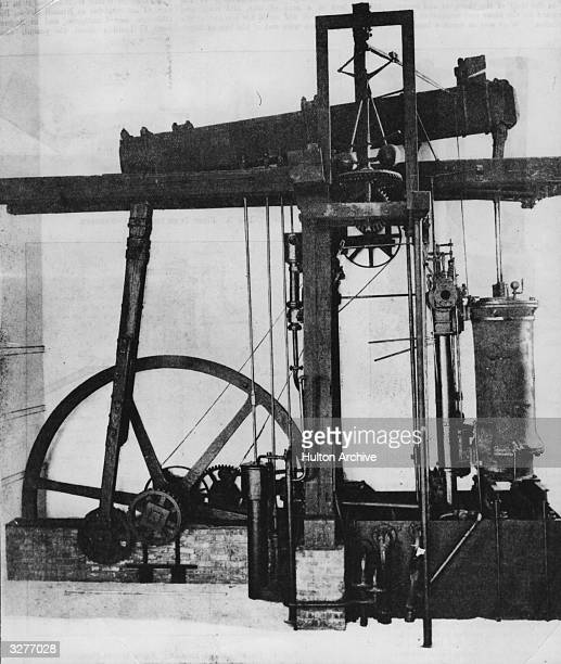 James Watt's 'Sun and Planet' steam engine patented in 1781 The action of the beam engine which operated cogs meant that the steam engine could be...