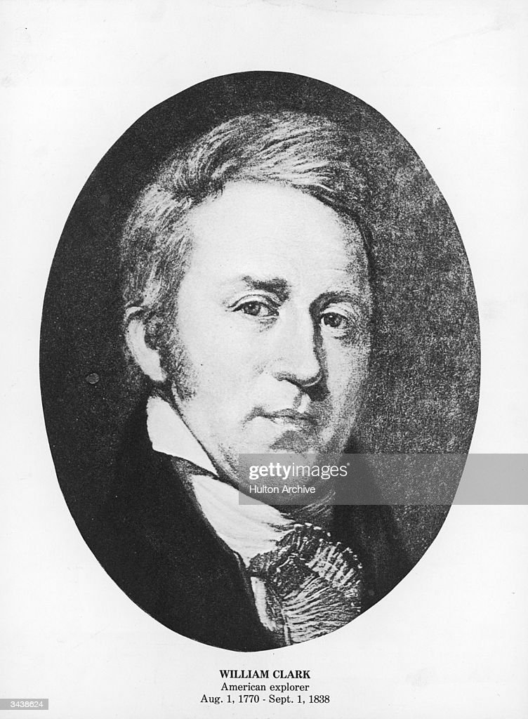 American explorer William Clark (1770 - 1838), who explored the north-west Upper Mississippi to the Pacific with Meriwether Lewis during 1804-06.