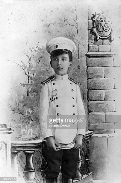 Crown Prince Boris of Bulgaria who acceded to the throne as King Boris III in 1918