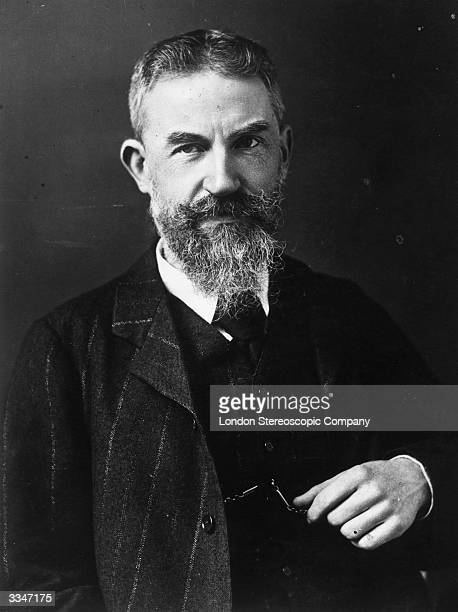 Irishborn playwright writer and critic George Bernard Shaw Original Artwork Photo by Ellis Walery