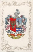 The Cumbrian coat of arms for Ambleside