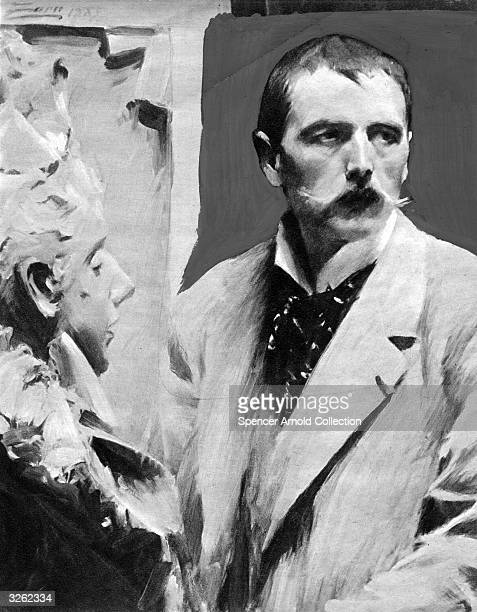 The Swedish etcher sculptor and painter Anders Leonhard Zorn