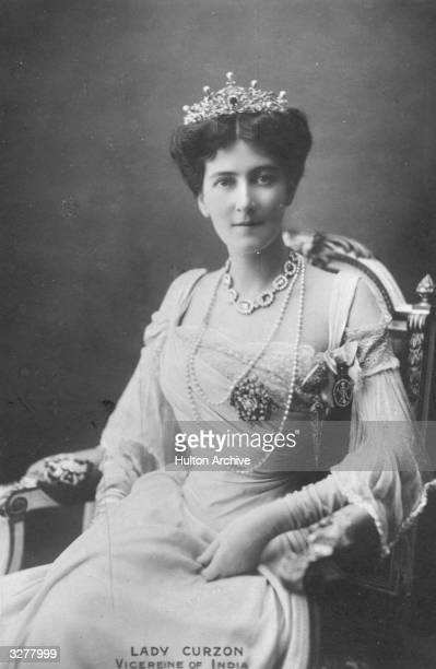 Mary Victoria Curzon first wife of George Nathaniel Curzon 1st Marquis statesman Governor General of India
