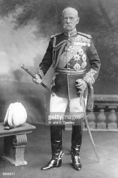 The English soldier Frederick Sleigh Roberts who was created Lord Roberts of Kandahar of Waterford in 1892 and earl in 1901 He became a field marshal...