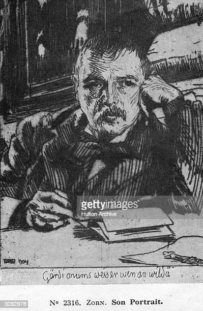 Swedish etcher sculptor and painter Anders Leonhard Zorn born in Utmeland