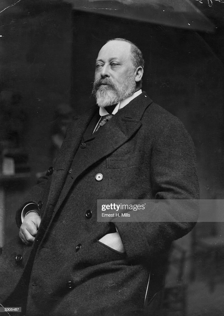 King <a gi-track='captionPersonalityLinkClicked' href=/galleries/search?phrase=Edward+VII&family=editorial&specificpeople=107207 ng-click='$event.stopPropagation()'>Edward VII</a>, (1841 - 1910), who ascended the British throne in 1901 on the death of his mother, Queen Victoria.