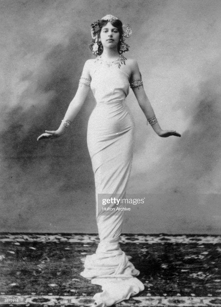 The dancer and World War I spy, Mata Hari (1876-1917) born Gertrud Margarete Zelle.