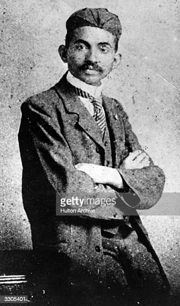 Mahatma Gandhi as a young lawyer