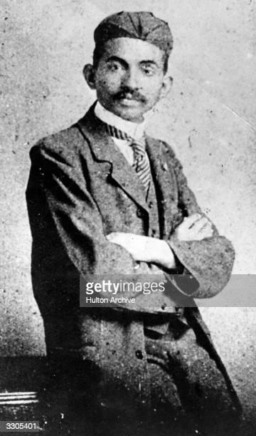 Mahatma Gandhi as a young lawyer