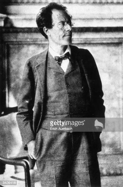 Czech born Austrian composer Gustav Mahler