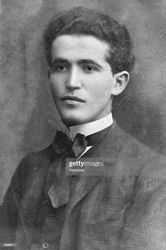 Polish-born Israeli statesman David Ben Gurion (1886 - 1973) as a young man. Ben-Gurion became the first Prime Minister of the state of Israel.