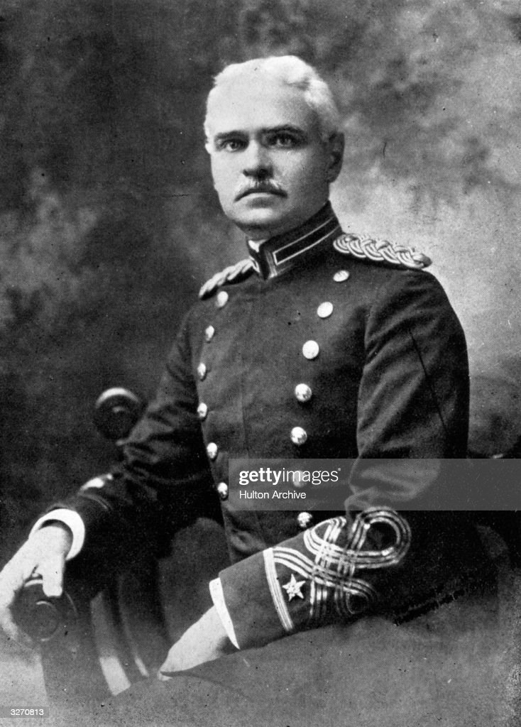 Colonel G W Goethals (1858 - 1928), chief engineer for the Panama canal.