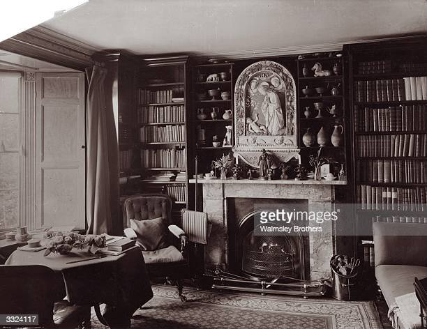 English writer and art critic John Ruskin's study at Brantwood Coniston