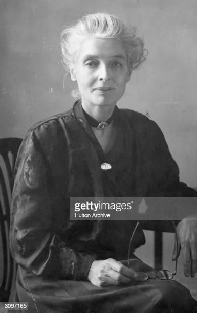 Fabian socialist thinker historian economist and writer Beatrice Webb