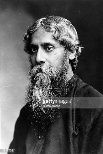 Indian poet and philosopher Rabindranath Tagore