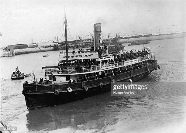 The Great Western Railway mail boat on the Royal Mail route to London