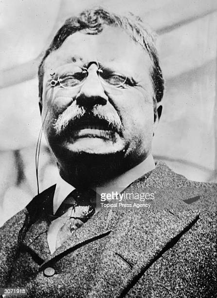 an analysis of theodore roosevelt as a president The energetic republican president had taken his first oath of office (roosevelt's inaugural contained theodore roosevelt is making justification on.