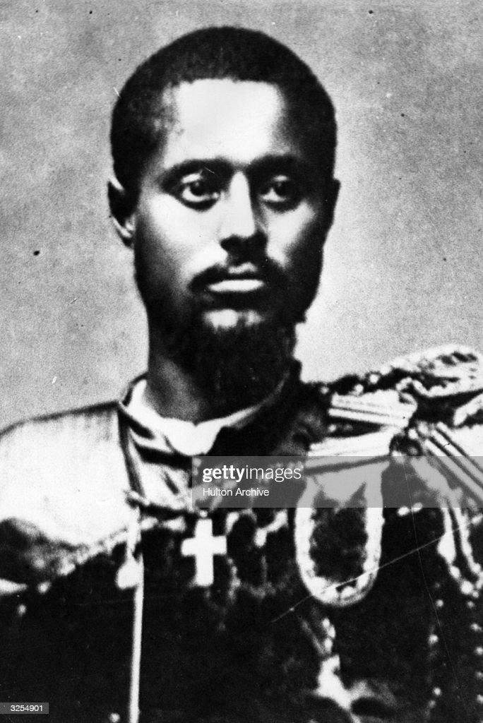 Prince Ras Tafari Makonnen of Abyssinia (1891 - 1975), later Haile Selassie I, Emperor of Ethiopia.