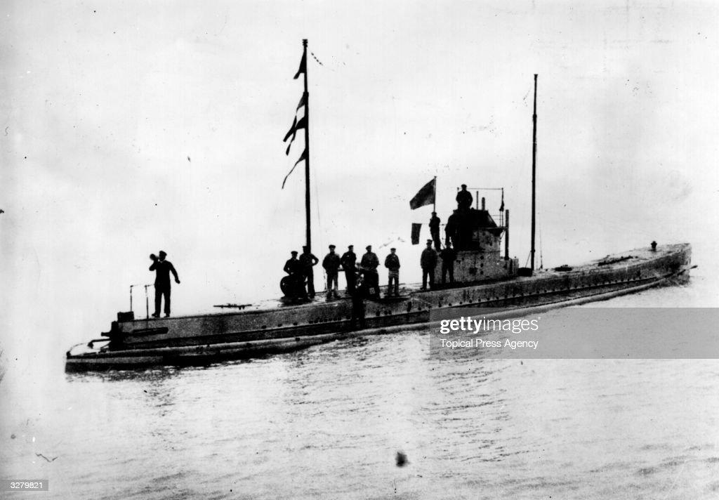 A German UBoat
