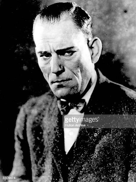 American character actor Lon Chaney known as the 'man of a thousand faces' because of his elaborate film make up and disguises