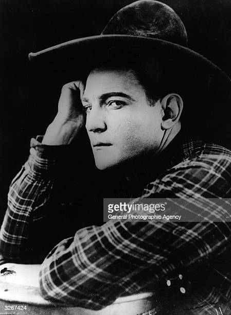 American actor Buck Jones who starred in Westerns in the 20s but died at an early age from burns received in a fire