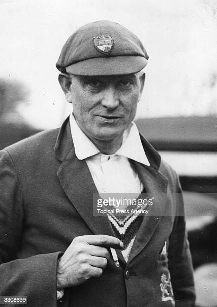 Charles Warrington Leonard Parker known as Charlie Parker England and Gloucestershire cricketer