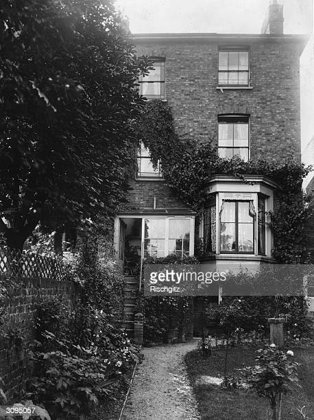 Holly Lodge the house in Wandsworth Greater London where English novelist Mary Ann Evans aka George Eliot lived between February 1858 and March 1859...