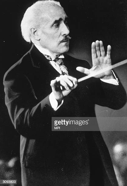 Italian born conductor Arturo Toscanini after working with the New York Philharmonic from 1928 to 1936 he led the NBC Orchestra until 1954