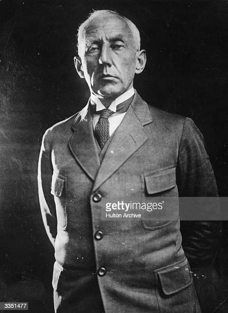 Norwegian arctic explorer Captain Roald Amundsen