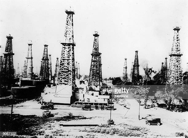 Signal Hill oilfield in Texas