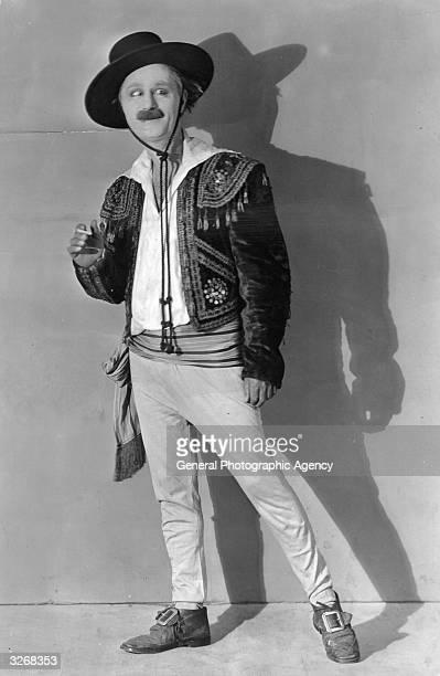 Ben Turpin crosseyed American silent comic actor