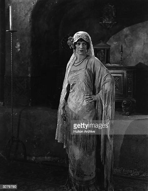 American actress Edith Roberts star of the silent screen in a scene from an unknown film