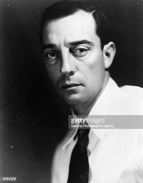 American comedian of the silent era Buster Keaton who started his career in Hollywood in 1917 and became known as 'The Great Stoneface' for his...
