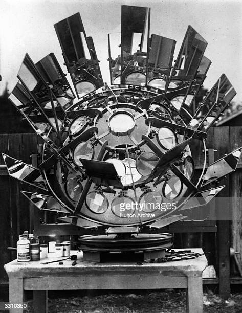 A machine invented by Marcel Moreau in America which harnesses the suns energy in order to emit very high temperatures onto a particular point