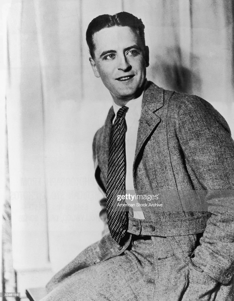 American novelist <a gi-track='captionPersonalityLinkClicked' href=/galleries/search?phrase=F.+Scott+Fitzgerald+-+Writer&family=editorial&specificpeople=93376 ng-click='$event.stopPropagation()'>F. Scott Fitzgerald</a> (1896-1940).