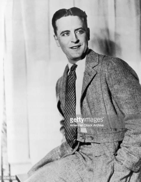 American novelist F Scott Fitzgerald