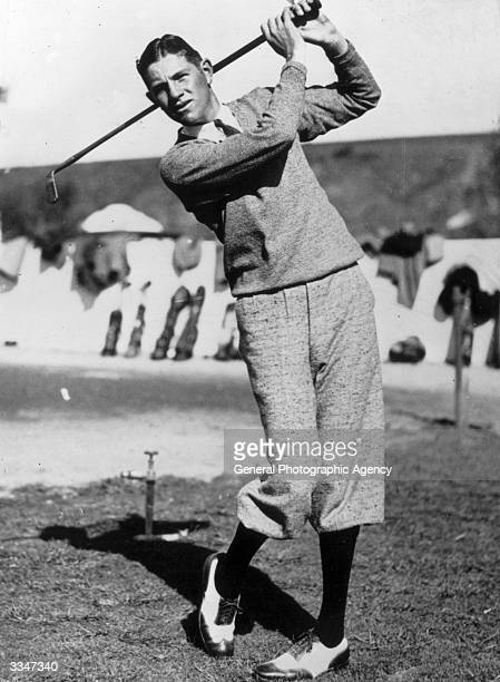 Horton Smith winner of the first US Masters in 1934