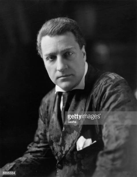 Russian born French actor and film director Sacha Guitry