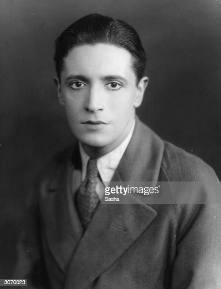 Welsh actor dramatist and composer Ivor Novello