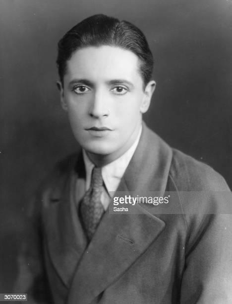 Welsh actor dramatist and composer Ivor Novello
