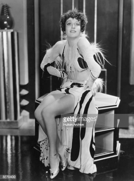 Joan Crawford the screen name of Lucille Le Sueur who was also known for a time as Billie Cassin She is wearing a show girl's costume