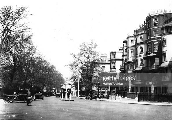 Traffic in Park Lane London